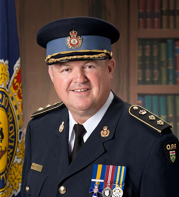 Acting Provincial Commander Paul Beesley